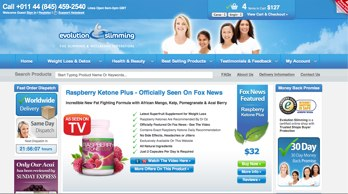 Evo Slimming website