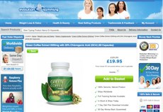 Green coffee capsules evolution slimming website