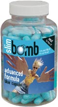 Slim Bomb little blue diet pill