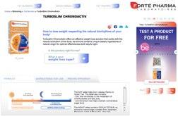TurboSlim Chronoactiv website
