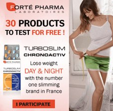 advert for TurboSlim Chronoactiv