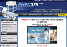 Phen375 UK website