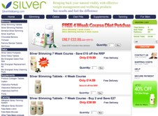 Silver Slimming Pill UK website