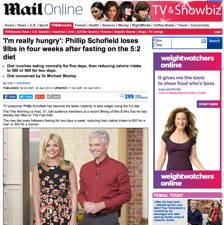 5-2 diet philip schofield