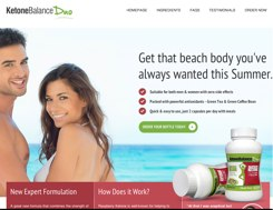 Official website of Ketone Balance duo for UK and Ireland