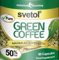 Green Coffee bean with Svetol