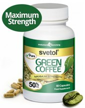 Svetol Green Coffee tablets with 50% Chlorogenic Acid