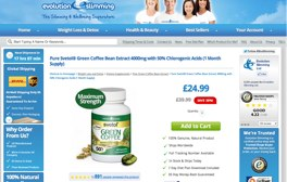 Svetol Green Coffee Website Evolution Slimming