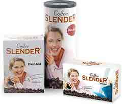 Coffee Slender sachets and diet aid