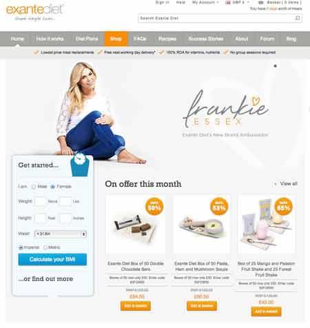 Exantewebsite