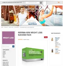 Complete Nutrion website