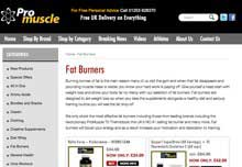 Pro Muscle website