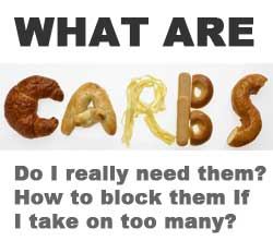 How to block excess carbs