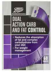 Boots Dual Action carb and fat control