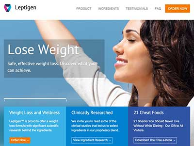 Leptigen UK website