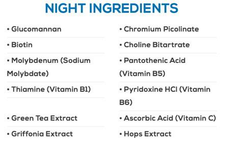 Phen24 night time formula