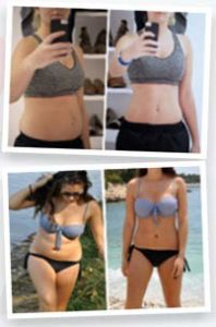 15 Day Diet Before and After photos